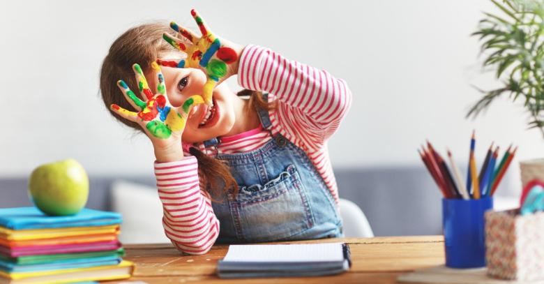 el arte en la primera infancia grande